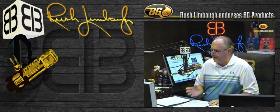 BG Products Rush Limbaugh